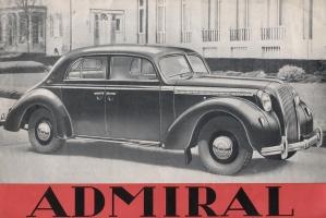 Opel Admiral. От швейной машинки к автомобилю