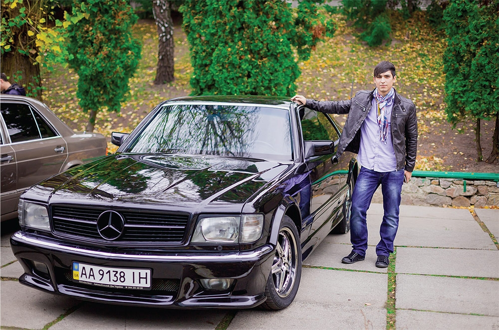 Mercedes W126 SEC